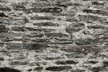 A stone wall texture background from a farmhouse