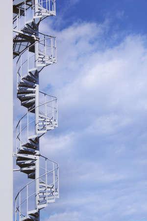 cloud nine: stairway ro heaven Stock Photo