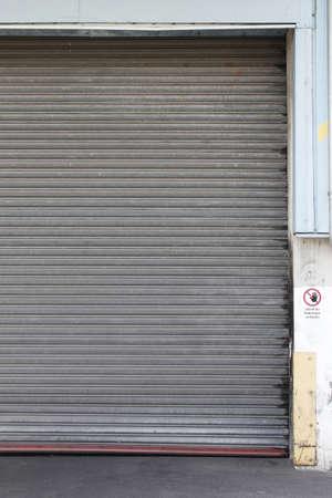 garage: Garage Door Stock Photo