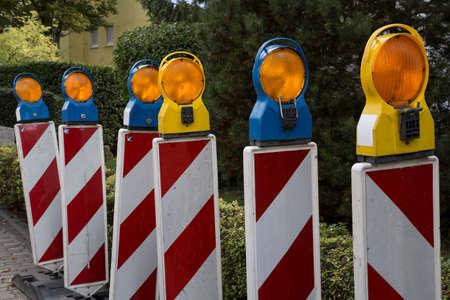 roadwork: Roadwork signs