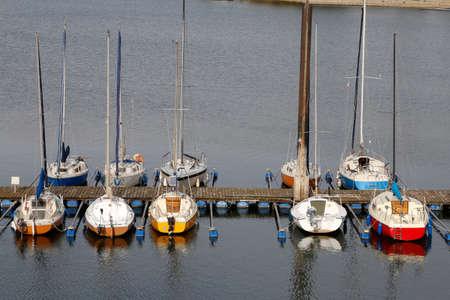 sailing boats: Sailing Boats Stock Photo