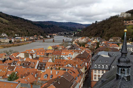 old town: Heidelberg old town