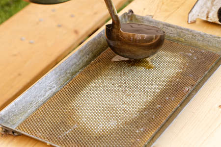 beekeeping: beekeeping: honeycomb manufacturing