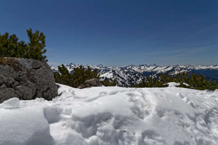 in the austrian alps