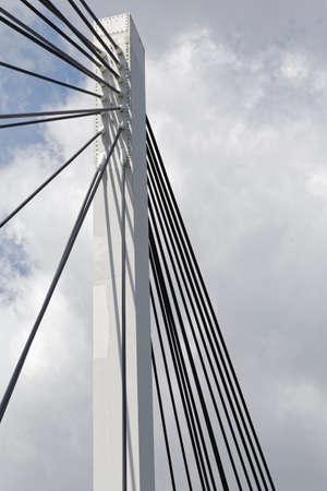 steelwork: bridge Stock Photo