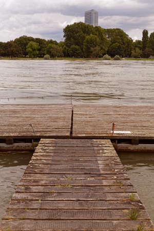 landing stage: river landing stage