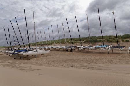 sea slug: sailing boats on the beach