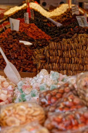 dry fruit: nut and dry fruit sales stall