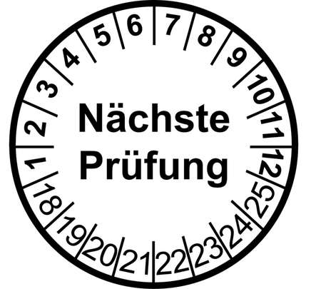 German safety checkbadge