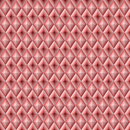 sectional: Seamless pattern with rhombuses. Volumetric abstract texture. Modern stylish texture. Repeating geometric tiles. Vector background.