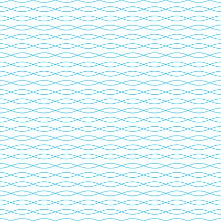 Abstract wavy seamless pattern Illustration