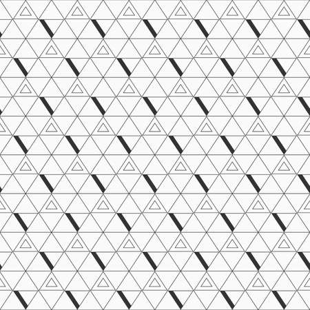 diagonal: Abstract triangle background. Repeating geometric tiles. Linear grid with triangles. Illustration