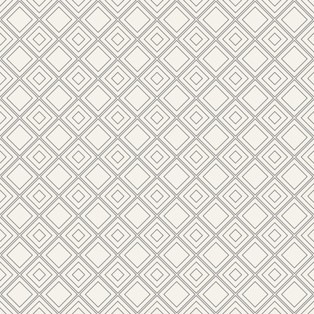 Abstract seamless patterns with diagonal squares. Stylish geometric texture. Vector background.
