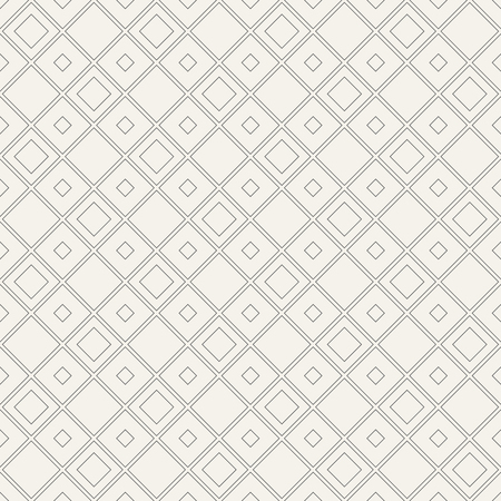 Abstract geometric seamless patterns of rhombuses. Stylish texture. Linear style. Vector background.