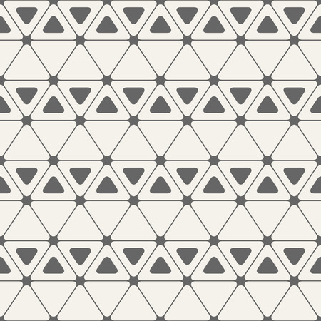 pinnacle: Abstract seamless pattern. Triangles with rounded corners. Vector background.