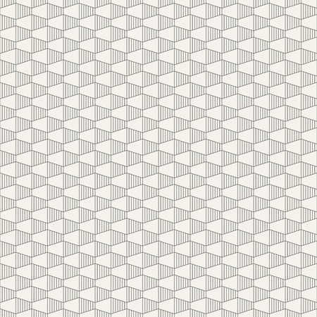 Abstract seamless pattern hexagonal grid design Vector background. Illustration