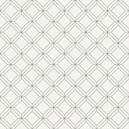 벡터 원활한 패턴입니다. 마름모꼴의 기하학적 타일을 규칙적으로 반복합니다. 선형 스타일. 추상 형상 배경입니다. 얇은 선으로 현대 선형 질감.