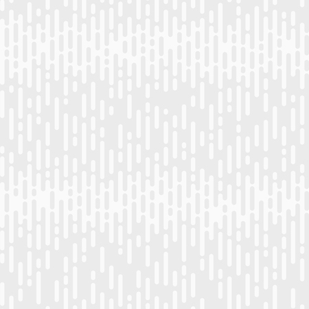 Abstract seamless pattern. Irregular Rounded Lines. Halftone transition. Monochrome geometric texture. White and gray geometric texture. Vector background. Çizim