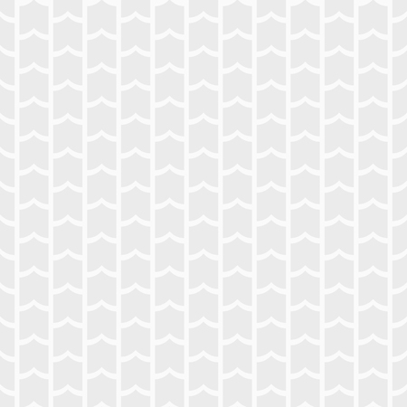 Vector seamless pattern. Repeating symmetric geometric shapes. White and gray geometric texture. Modern stylish texture. Design for print, wallpaper, fabric, cloth, textile, decoration.
