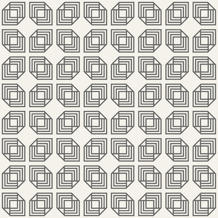 Abstract seamless pattern. Regularly repeating geometric ornament. Linear style. Vector background.