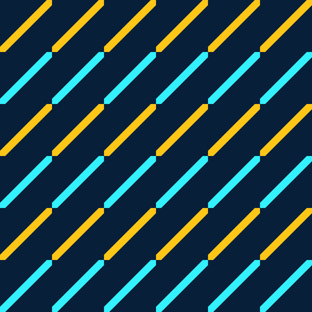 Abstract seamless pattern. Parallel diagonal lines. Stripped geometric pattern. Regularly repeated geometric shapes. Vector color background.  イラスト・ベクター素材