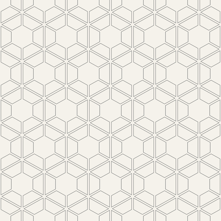 Abstract seamless pattern. Modern stylish texture of trellis. Repeating geometric hexagonal grid. Simple graphic design. Trendy thin linear geometry. Vector background.