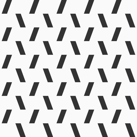 Vector seamless pattern of inclined rectangles. Modern stylish texture. Minimalistic graphic print. Repeating geometric tiles with bold herringbone.