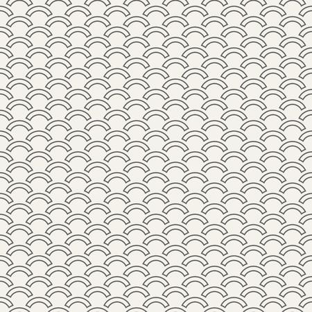 Abstract seamless pattern of arcs. Modern stylish texture. Wave pattern. Minimalistic graphic print. Vector background. Reklamní fotografie - 118425374