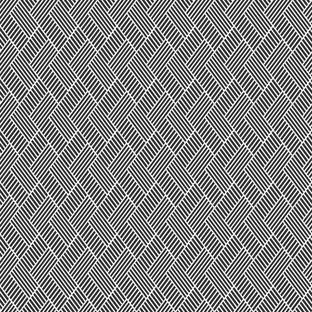 Vector seamless pattern. Regularly repeated inclined stripes. Modern stylish texture. Striped herringbone background.
