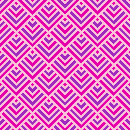 Abstract seamless lattice pattern. Modern stylish texture. Colorful trellis. Repeating geometric rhombuses tiles with stripe elements. Grid pattern. Vector color background.