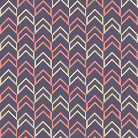 Seamless fashion arrows patterns. Herringbone pattern. Modern stylish texture. Vector color background.