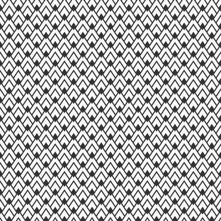 Seamless geometry pattern. Arrowhead pattern. Abstract geometric vector background. Pillow print. Monochrome texture. Modern stylish texture. Hipster fashion design.