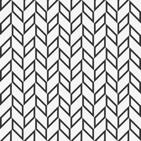 Checkered seamless pattern with alternating parallelogram. Optical illusion, contrasty monochrome background.