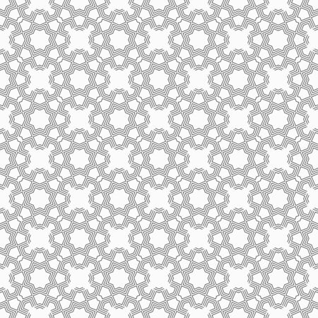 Abstract seamless pattern. Modern stylish texture. Ethnic geometrical ornament. Linear style.Repeating geometric shapes. Vector monochrome background.