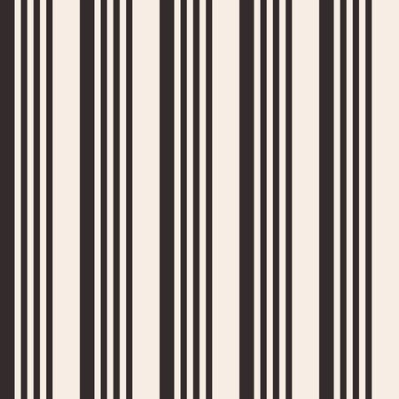 Abstract seamless pattern of vertical dark brown bright stripes. Regularly repeating color lines on beige background. Design for background, wallpaper, wrapping, fabric, textile. Vector color background. 版權商用圖片 - 134810376