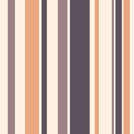 Abstract seamless pattern of vertical stripes. Regularly repeating pastel color lines. Design for background, wallpaper, wrapping, fabric, textile. Vector color background.