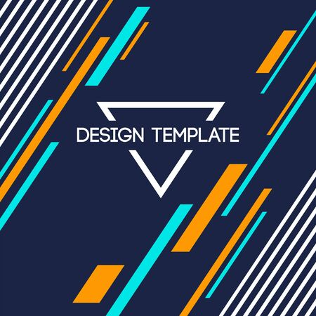 Abstract background of lines, diagonal stripes. Abstract geometric composition. Applicable for covers, placards, posters, brochures, flyers, banner designs. Color vector illustration.