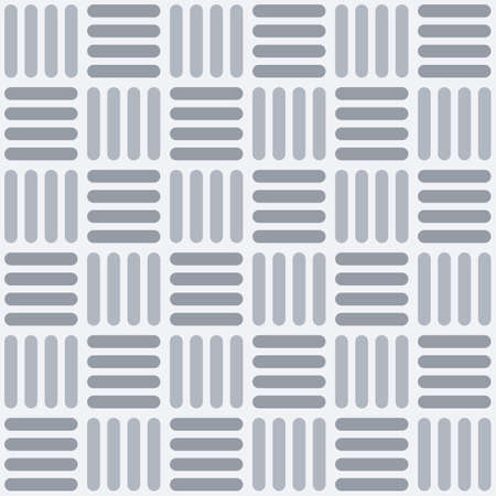 Vector seamless pattern with intertwined rounded stripes, squares. Modern stylish texture. Regularly repeating striped squares. Geometric lattice. Simple color graphic print.