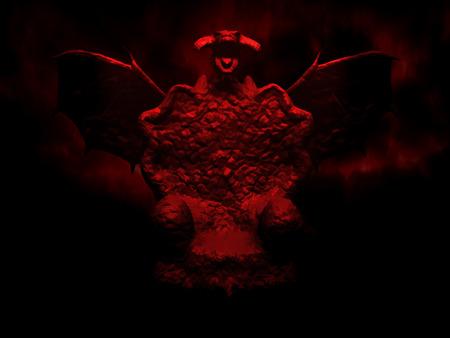Digital illustration art. The dragons dark throne.