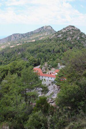 Holy Monastery of  Saint Dimitrios in Zalongo or Zalogo Preveza Greece