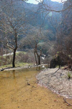 Springs of Kryas in Livadeia Boeotia Greece
