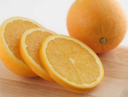 sliced orange Stock Photo - 2483212