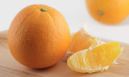 fresh slice of orange Stock Photo - 2483210