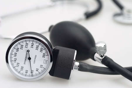 pressure: sphygmomanometer stethoscope blood pressure meter medical tool