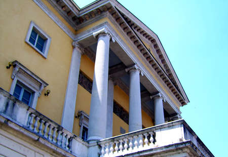 piacenza: Municipal Theatre of Piacenza - Side view