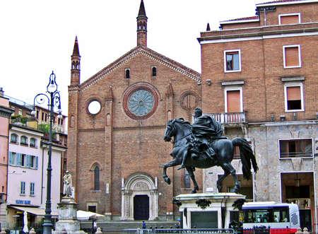 piacenza: Piazza Cavalli square - Piacenza, Italy