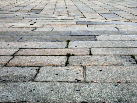 plaza: Floor on a plaza in Italy Stock Photo