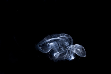 abstract smoke mushrooms photo