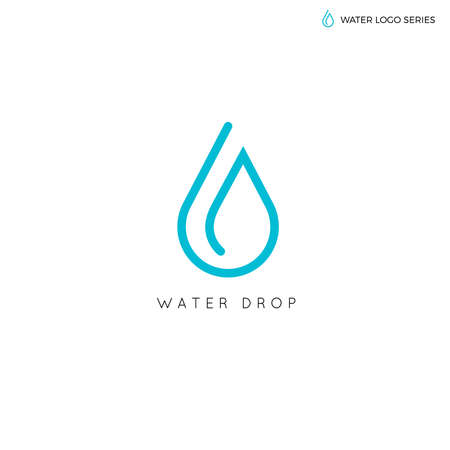 Water logo. Blauw water logo. Water beste logo. Aqua logo. Helder water logo. Eco logo. Milieu logo. Natural logo. Waterenergie logo. Alternatieve energie logo.