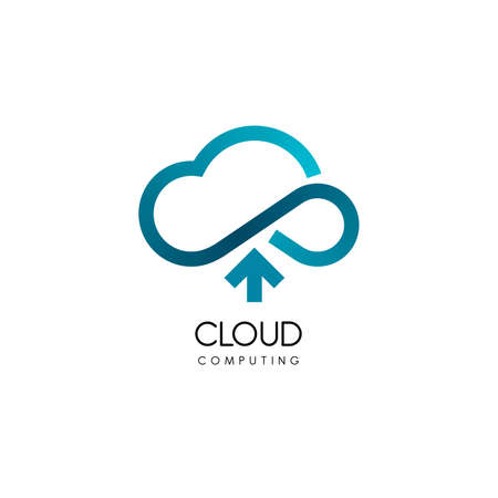 cloud technology: Cloud computing and storage. Technology design template